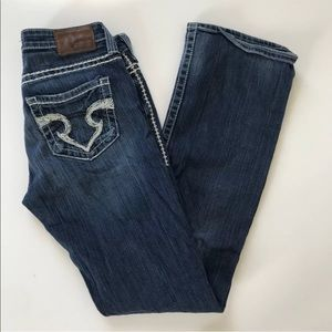 Big Star Bootcut Jeans 30 Long 30L Sweet Boot